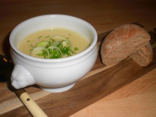 Potet-purre-suppe